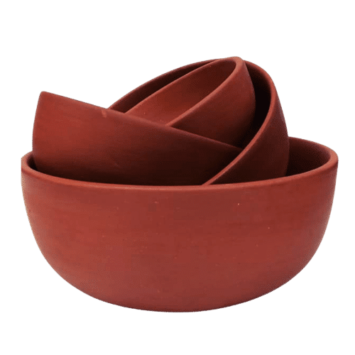 terracotta cooking pots